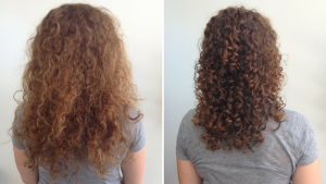 curly hair control and treatment at House of Beauty Salon