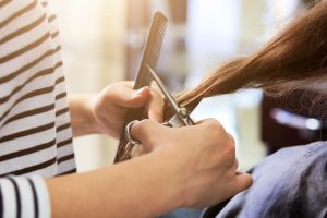 hair trim cut color style at House of Beauty Salon