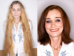 hair color & style makeover at House of Beauty Salon