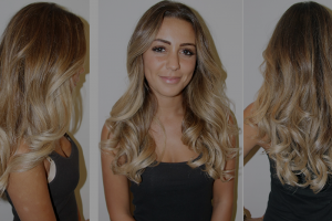 ombre hair cut color style at House of Beauty Salon