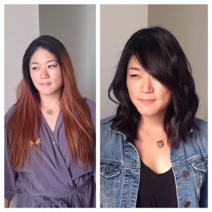 cut n colour at House of Beauty Salon